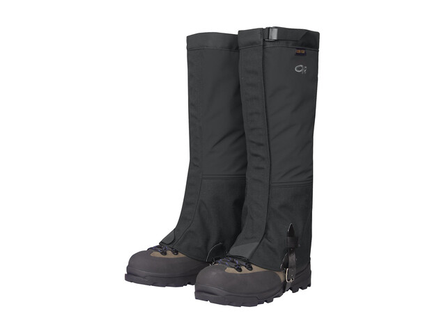 Outdoor Research Crocodiles - Guêtres Homme - noir